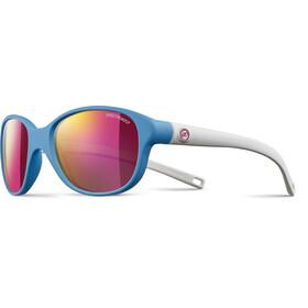 Julbo Kids 4-8Y Romy Spectron 3CF Sunglasses Matt Blue/Matt White-Multilayer Pink